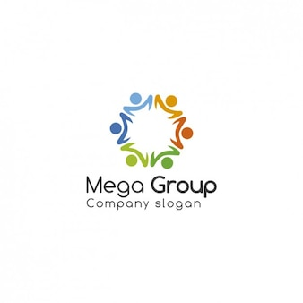 Groupe logo template