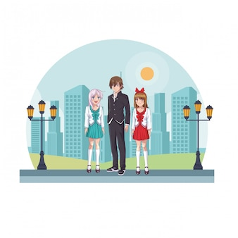 Groupe manga anime