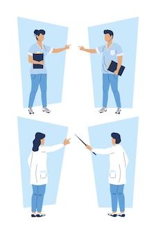 Groupe de médecins