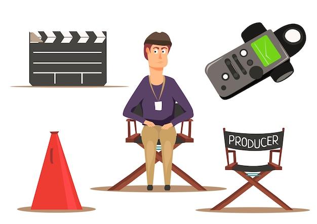 Groupe de tournage de film