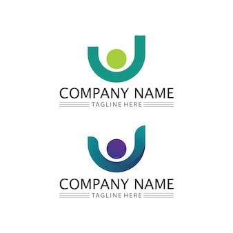 Groupe de travail d'icône de personnes et logo de la communauté conception d'illustration vectorielle