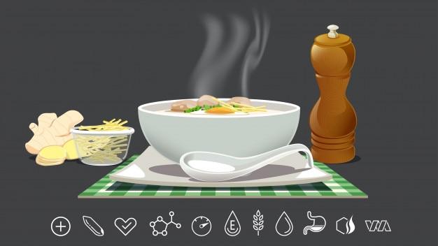 Gruau de riz pour soulager le rhume