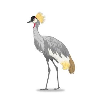 Grue à oiseaux
