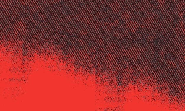 Grunge en détresse avec fond de bande d'encre diagonale