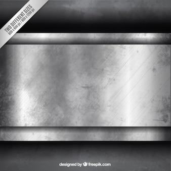 Grunge fond métallique
