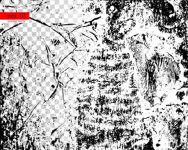 Grunge texture noir et blanc messy dust overlay fond de détresse