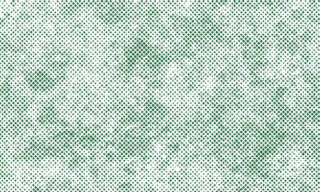 Grunge vert texture détaillée en fond blanc