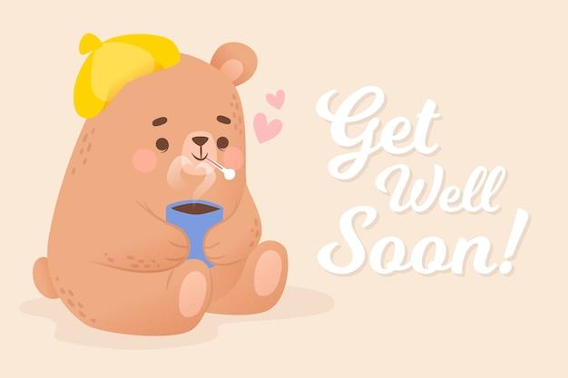 Guérissez bientôt avec ours