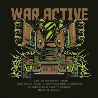 Guerre active