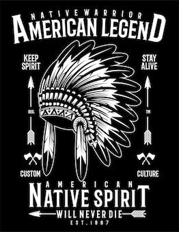 Guerrier indigène