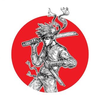 Guerrier ninja