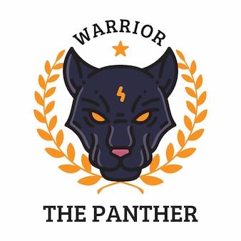 Le guerrier panthère
