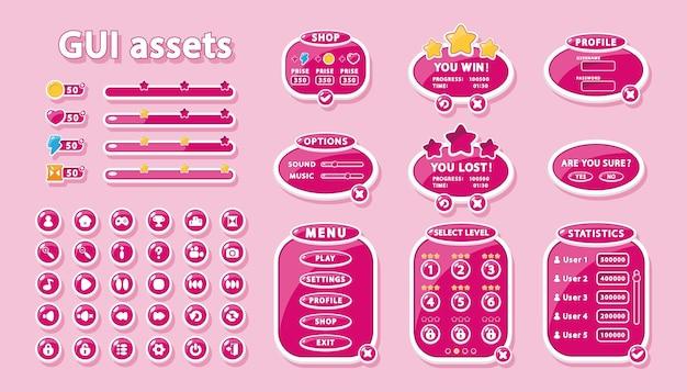 Gui défini pour la conception de l'interface utilisateur des jeux et des applications