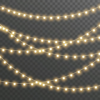 Guirlande de lumières de noël