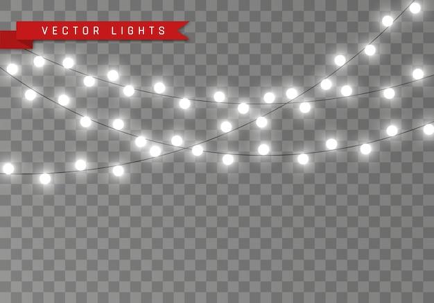 Guirlande lumineuse de lumières de noël