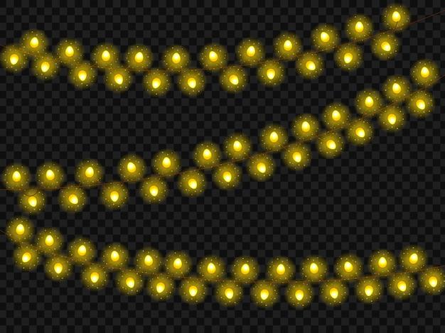 Guirlande de noël du nouvel an