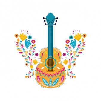 Guitare mexicaine