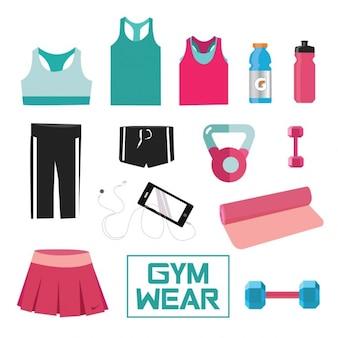 Gym collection de vêtements