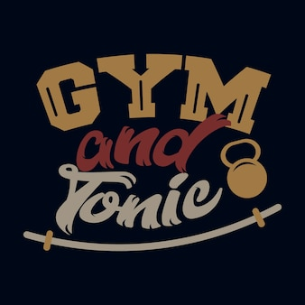 Gym et tonique. dictons et citations de gym