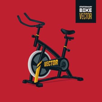 Gymnase de vélo stationnaire