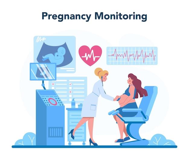 Gynécologue, reproductologue et concept de santé des femmes