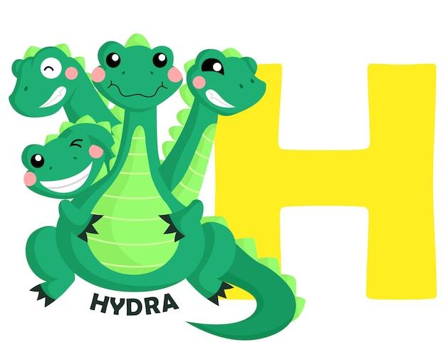 H pour hydra