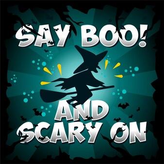 Halloween boo!