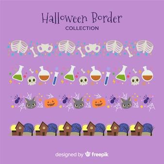Halloween border collectio