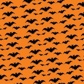 Halloween chauves-souris motif de fond