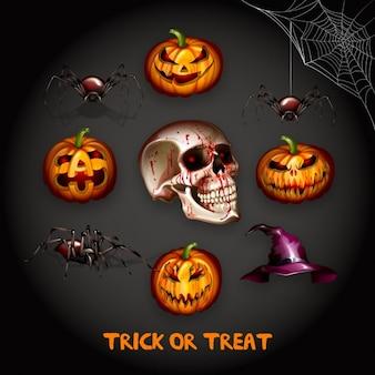 Halloween conception d'arrière-plan