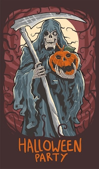 Halloween fantasmagorique