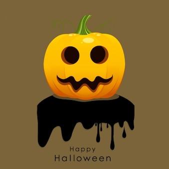 Halloween fond avec la citrouille