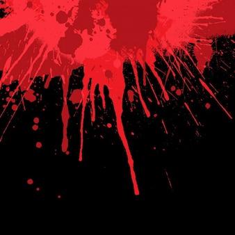 Halloween fond avec des éclaboussures de sang
