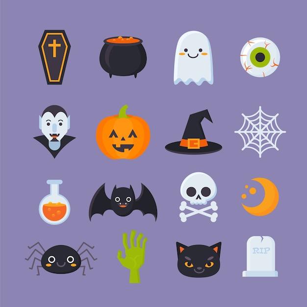 Halloween-icônes