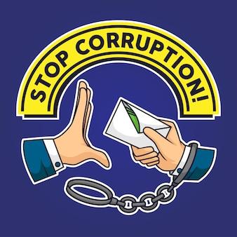 Halte à la corruption