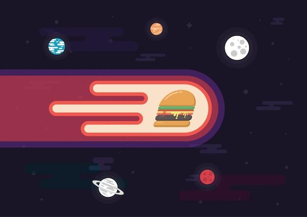 Hamburger haute vitesse