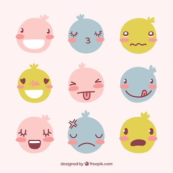 Han dessiné collection smiley