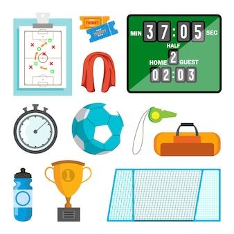 Handball icons set