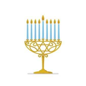 Hanoukka or menorah