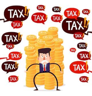 Hanté par les taxes
