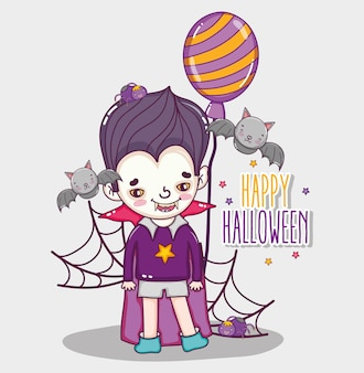 Happy cartoons de halloween