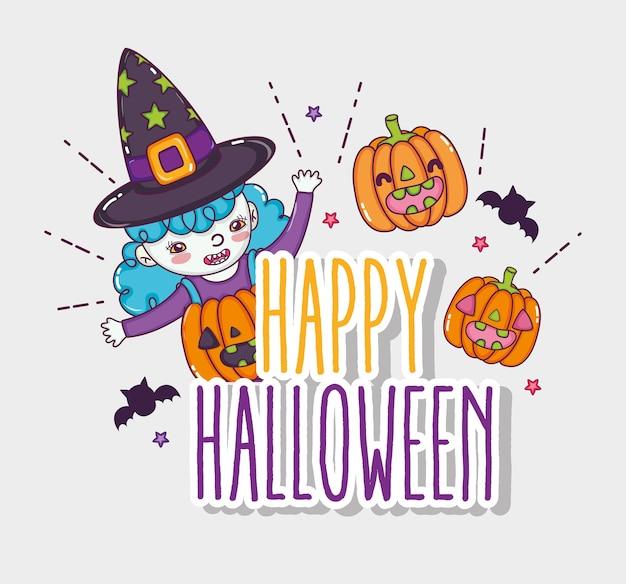 Happy cartoons de halloween