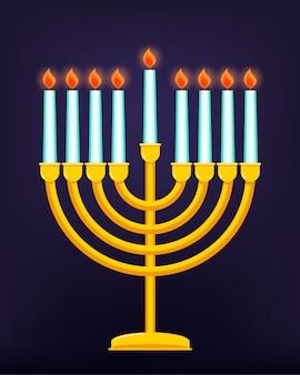 Happy hanukkah, fête juive