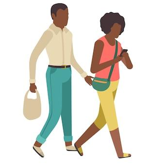 Harcèlement. prévenir la peur des abus sexuels des femmes et des filles. homme bulle femme dans un parc ou une rue sombre, arrêtez la prévention agressive