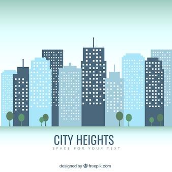 Hauteurs de la ville