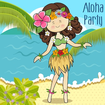 Hawaï danse