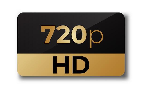 Hd 720p stiker
