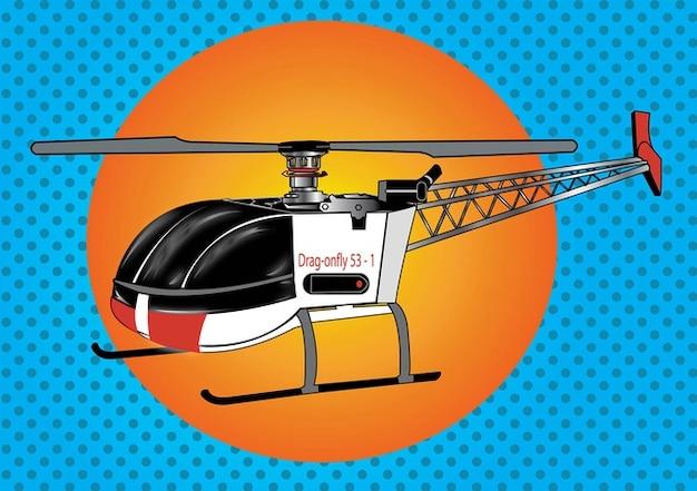 Hélicoptère de rc