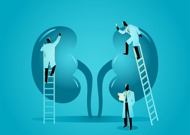 Hématologue graphique médical