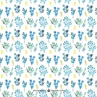 Herbes aquarelle motif